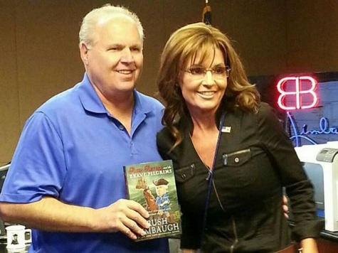Sarah Palin, Rush Limbaugh: Foolish for Boehner to Take Impeachment 'Off the Table'
