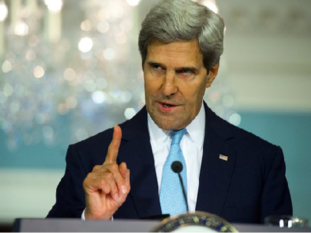 John Kerry: Climate Change Will Make Combating World Hunger More Difficult