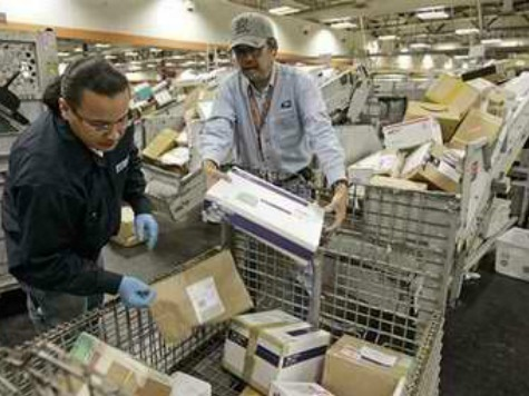 U.S. Postal Service Lost $1.96 Billion in Third Quarter