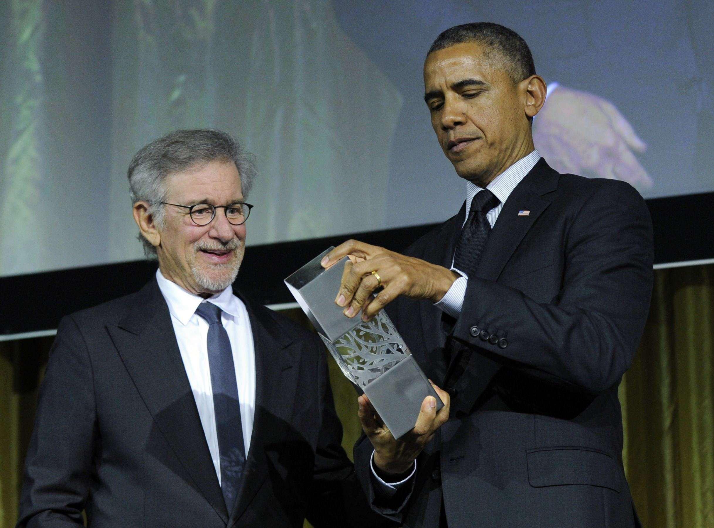 Blue State Blues: Spielberg Should Revoke Obama's Holocaust Award