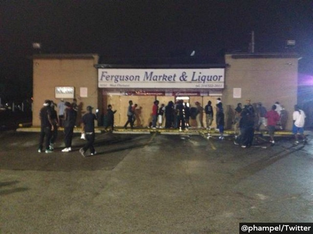 Store Owners 'Use Their Own Guns' As Police Back Away In Ferguson