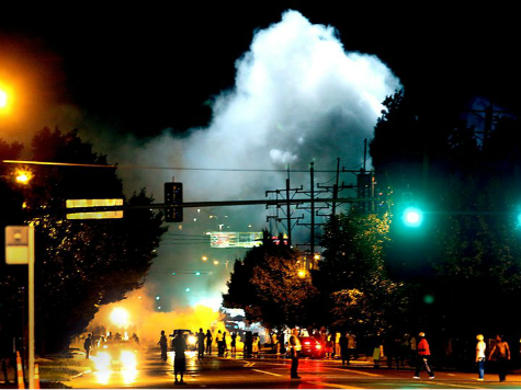 Run on Gas Masks in Ferguson