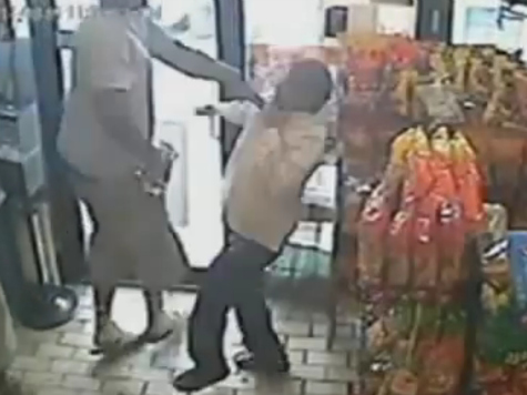 Robbery Tape Humiliates Media's 'Gentle Giant' Narrative