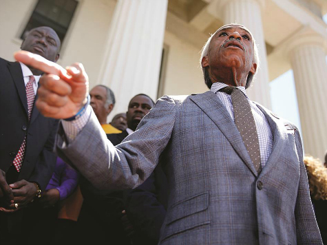 At Ferguson Rally Al Sharpton Says 'We Are Liberators,' Not Looters