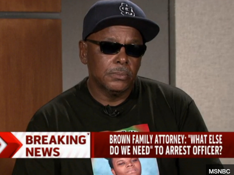 Michael Brown's Grandfather to Obama: 'I Voted for You,' So Come Meet Me