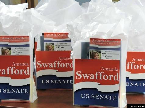 Libertarian Amanda Swafford Could Force Runoff in Georgia Senate Race