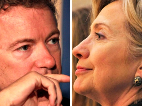 Exclusive-Rand Paul: Hillary's 'War Hawk' Policies Led to Benghazi Attack, Rise of ISIS