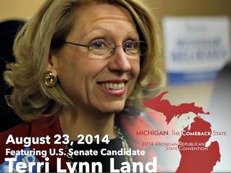 GOP's Terri Lynn Land Gains Momentum in Michigan Sen Race with 'Michigan First' Message