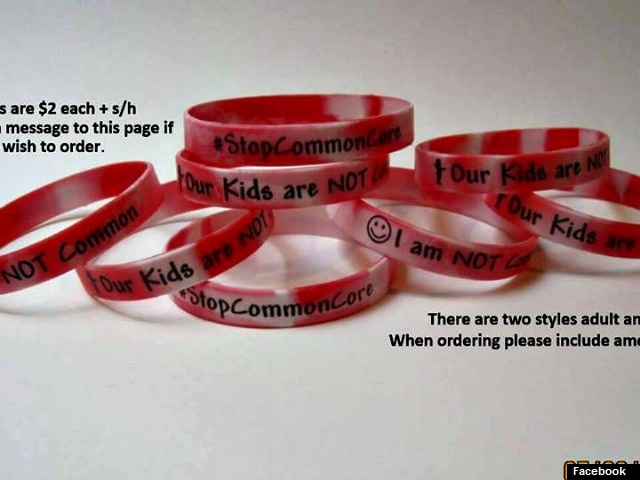 Moms Against Common Core Launch 'Bracelets That Are NOT Common' National Campaign