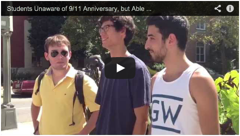 VIDEO: Students Unaware of Beheaded Journalists, Anniversary of 9/11 Attacks