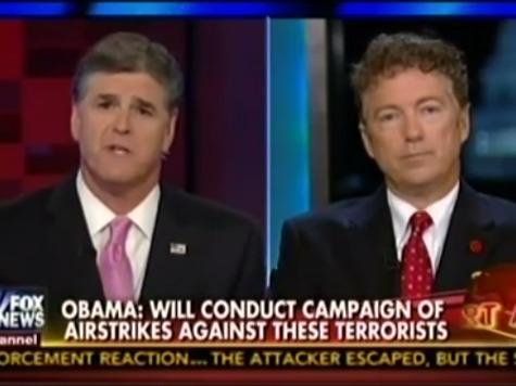 Rand Paul: Targeting Secular Dictators Created ISIS