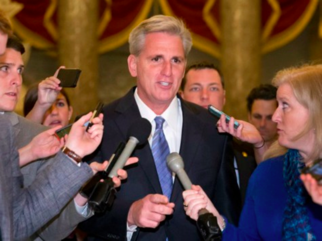 McCarthy Anticipates Bipartisan Passage of Syrian Authorization