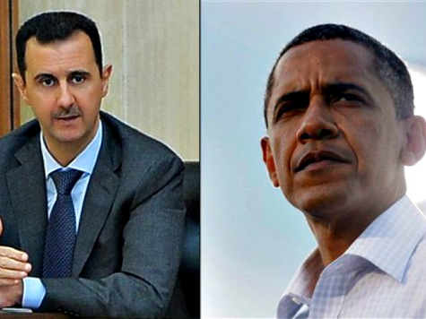Obama Suggests Another Red Line for Assad: Shoot at American Planes, Face 'Overthrow'