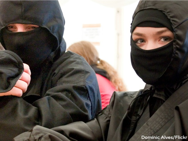 Police: Two Women Dressed as Ninjas Invade Utah Home
