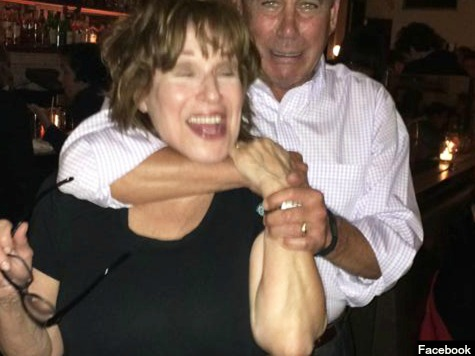 Boehner Parties in the Hamptons, Tells Joy Behar: 'I Am Obama's Best Friend'