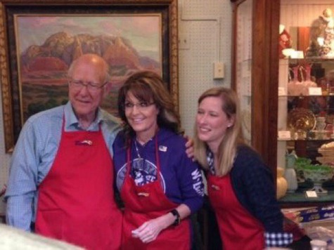 Sarah Palin Reminds Kansans Pat Roberts, Unlike Opponent, Opposes Amnesty for Illegals