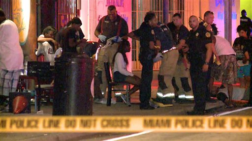 Police: 15 Hurt in Miami Nightclub Shooting