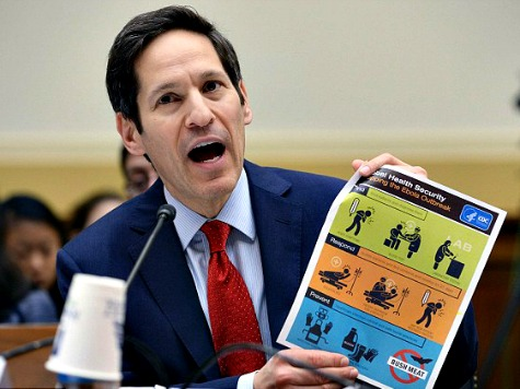 CDC Chief Frieden on Ebola: Sealing Borders 'Increases People's Distrust of Government'