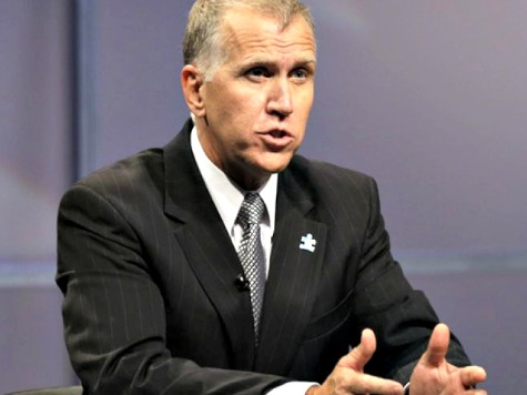 Tillis: I'll Vote Against Holder Replacement Who Doesn't Publicly Reject Obama's Planned Executive Amnesty