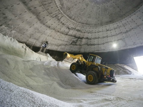 Road Salt Prices Jump Following Last Year's Harsh Winter