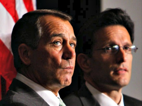 Boehner, Cantor Voted Lobbyists' Best Friends by Congressional Staffers