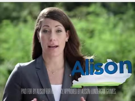 Left Blasts Alison Grimes for 'Offensive' TV Ad Attacking McConnell on Amnesty