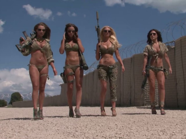 National Guard Investigating Bikini Models Sneaking onto Base for Photo Shoot