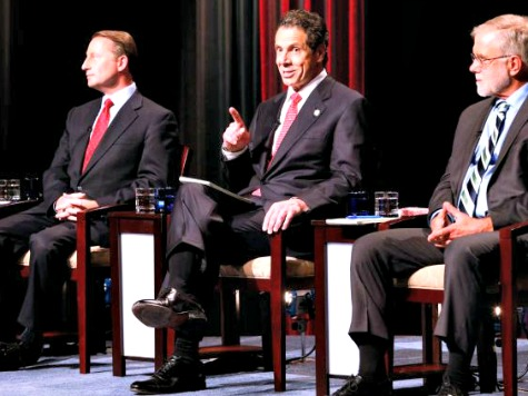 Debate: Governor Andrew Cuomo and Rob Astorino Trade Jabs