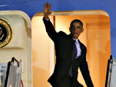 Obama Attends $32,400 Democratic Fundraiser as Ebola Hits NYC