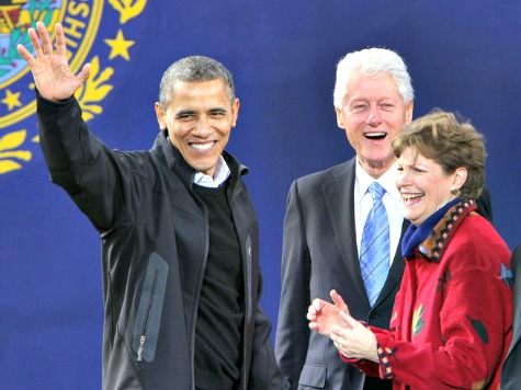 Jeanne Shaheen: Obama Can't Campaign with Me Because 'He's Busy in Washington'
