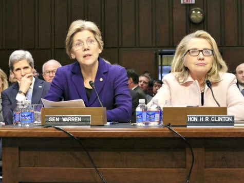Frenemies: Hillary Campaigns with Potential Rival after Warren Pries Door Open to POTUS Run