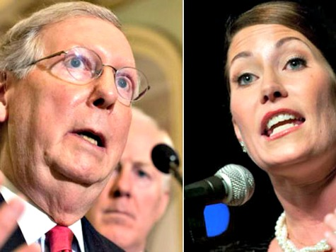 McConnell Releases Internal Poll Showing 8 Point Lead as Democrat Group Goes Back on Air