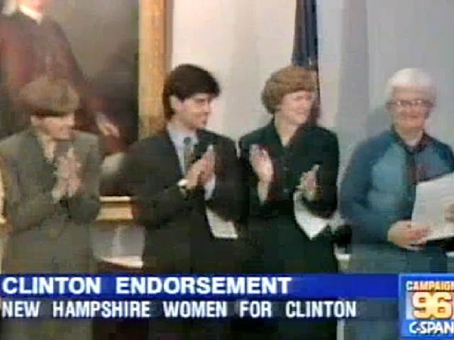 Shaheen Teamed with Debate Moderator Stephanopoulos on Bill Clinton Campaign