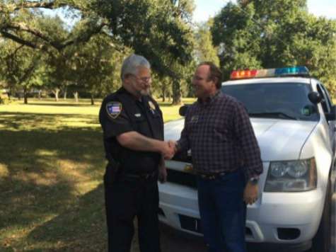 Louisiana Police Chief Pulls Over Rob Maness — To Tell Him He's Voting for Him