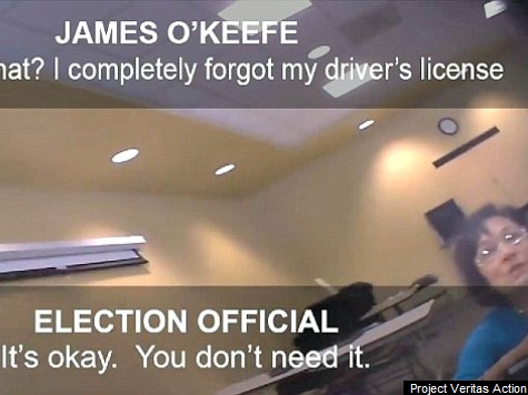 Conservative Activist Allegedly Shows Ease of Voter Fraud Without Photo ID in NC