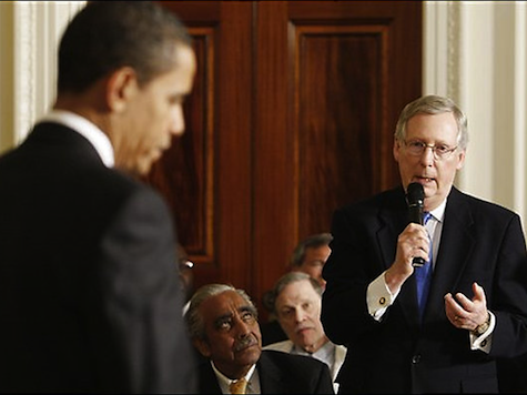 Mitch McConnell To Meet With Obama as Republicans Debate Amnesty Fight