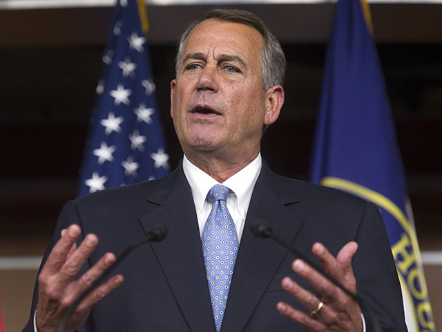 Boehner Warns Obama On Executive Amnesty: 'You're Going To Burn Yourself'