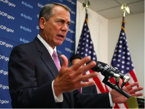 Boehner: Exec. Amnesty Will 'Erase Any Chances of Doing Immigration Reform'