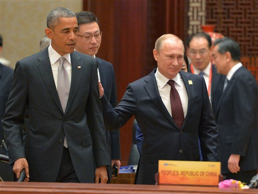 Face to Face with Putin, Obama Discusses Iraq, Syria, and Ukraine
