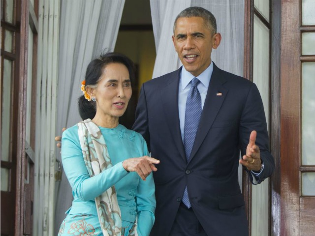 Obama Touts U.S. Rule of Law in Burma, Then Promises Exec Amnesty