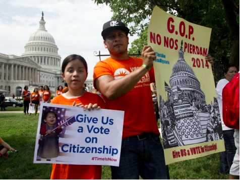 Illegal Immigrants Protest Sessions, Cruz, McConnell in Senate Offices
