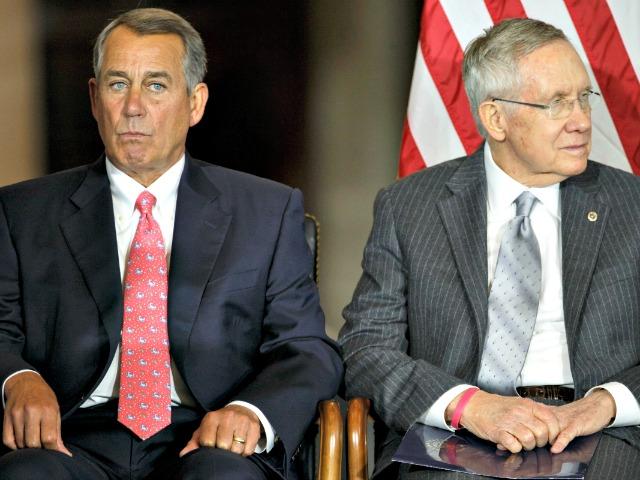 Harry Reid Backs Boehner Plan to Fund Obama's Executive Amnesty