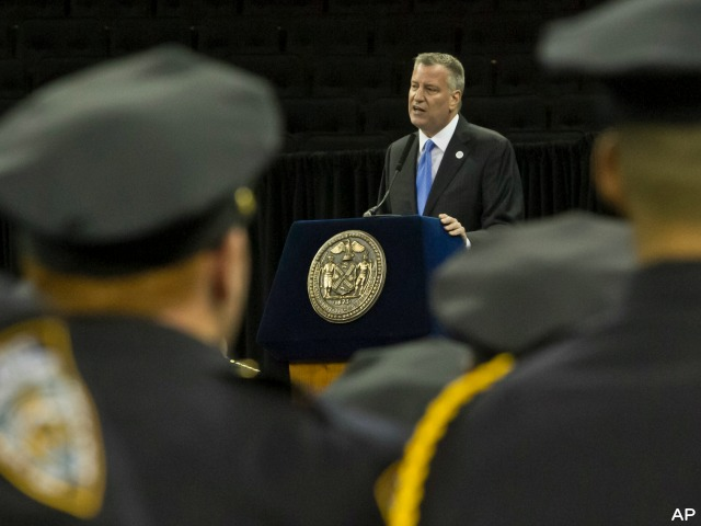 New York Police Group: Don't Let De Blasio Attend Cop Funerals