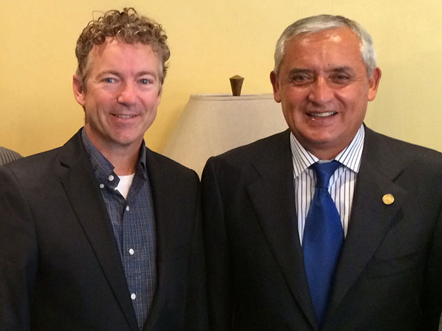 Exclusive: Rand Paul Slams Obama on Immigration While Meeting with Guatemalan President