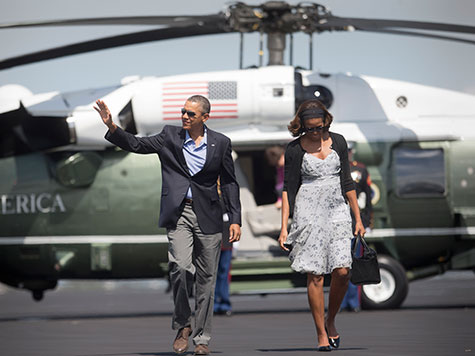 Exclusive – Study: Obama Most Well-Traveled, Expensive President In History Through Five Years