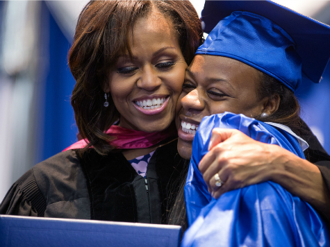 Michelle Obama Urges All High School Students to Apply for Federal Aid: 'Don't Leave Money on the Table'