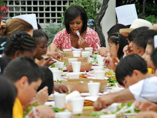 Michelle Obama: I Couldn't Feed My Kids Right-Even with a Harvard Degree