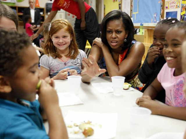 Michelle Obama: Taxpayer Money Shouldn't Be Spent on Junk Food in Schools