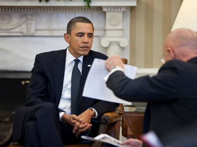 Report: Obama Has Missed over Half His Second-Term Daily Intel Briefings
