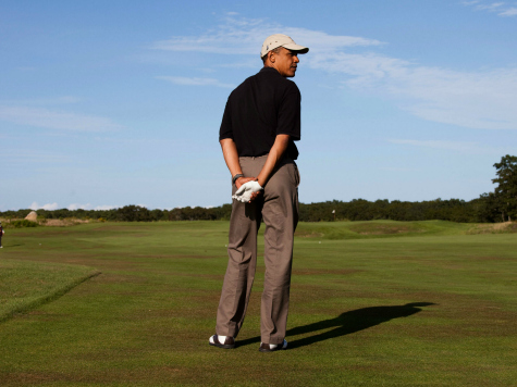 Obama Golfs For 4 Hours, 40 Minutes On Saturday, Then Holds Nighttime Ebola Meeting–Which New Ebola Czar Skips!